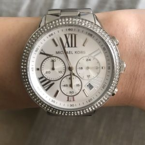 SOLD! Silver Michael Kors Watch